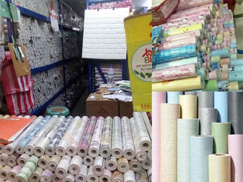 wallpaper decoration — Divisoria Shopping Malls